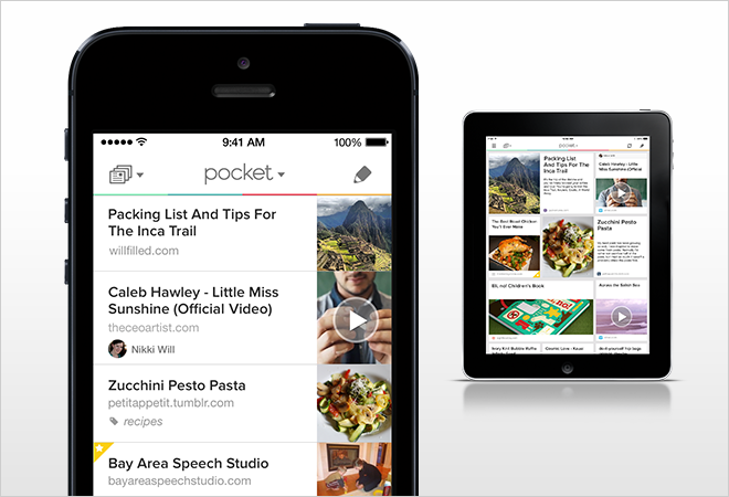 Image result for pocket app