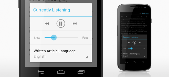 Available Now: Text-to-Speech in Pocket's New 'Listen